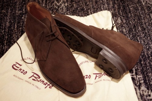 enzo bonafe chukka boots from bologna brown clothing